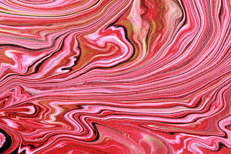 A portrait of Beautiful artistic texture. Abstract painted waves. Pink marble.