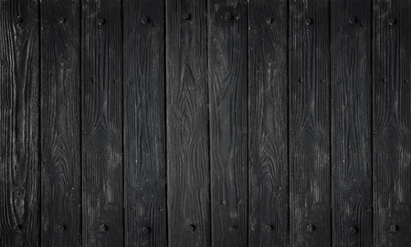 Black wood texture. background old panels in high detailed photo Stock Photo