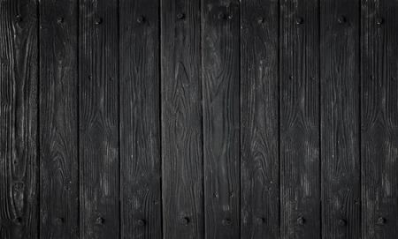 Noir texture du bois. fond vieux panneaux en haute photo détaillée Banque d'images