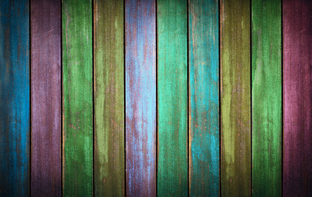 Colorfull washed wood texture. background old panels in high detailed photo