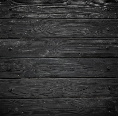 Schwarz Holzstruktur. Hintergrund alten Platten in hoch detaillierte Foto Standard-Bild - 43524727