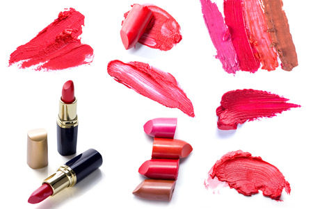 set of Scratch lipstick, and make up cosmetics collection
