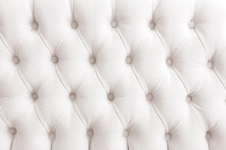 padding: portrait of vintage white padding cushion texture for background