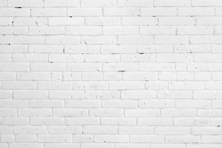 brick texture: portrait of White brick wall for background or texture