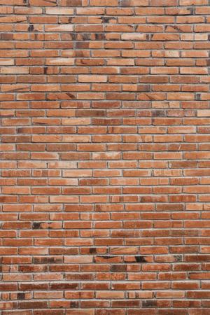 Portrait du mur de briques rouges. Détail de la construction Banque d'images - 78391778