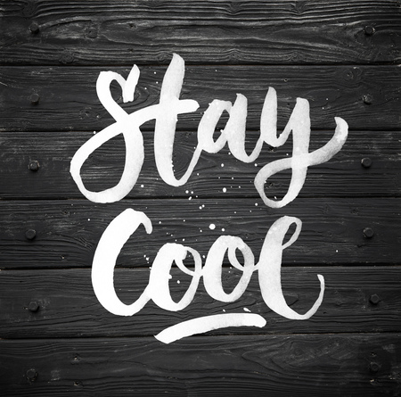 stay cool. Black wood texture. old panels in high detailed photo