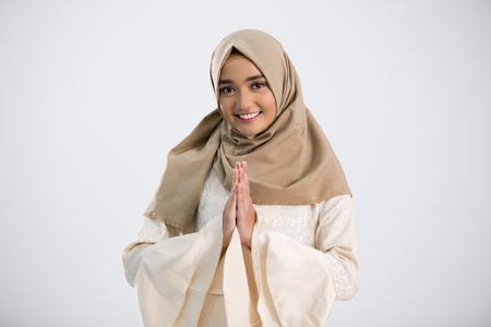 Jeune femme musulmane Banque d'images - 98002664