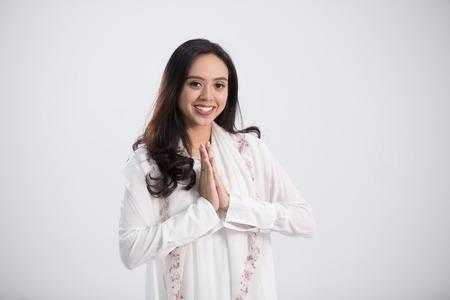 Young beautiful woman Stockfoto