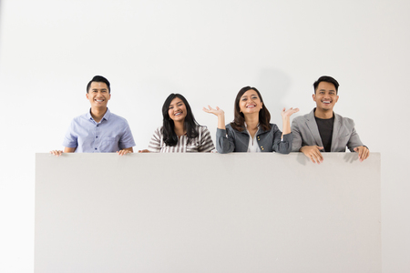 Group of young business concept Stock Photo
