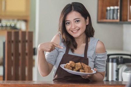 house wife cooking Stock Photo - 101533584