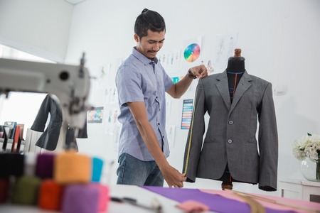 designer working in his workshop