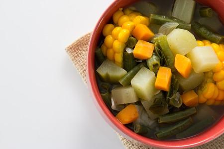 traditionele Indonesische culinaire gerechten. sayur asamsoep