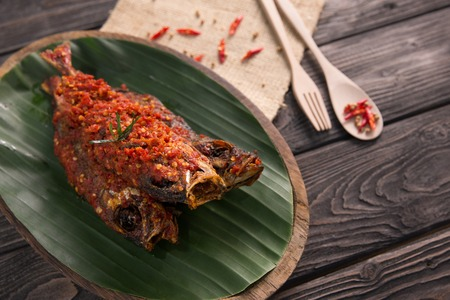 traditional indonesian dishes gembung fish