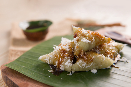 delicious lupis traditional indonesian culinary