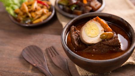 brongkos javanese food Stock Photo