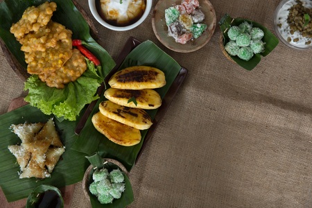 indonesian or javanese traditional food Stock Photo