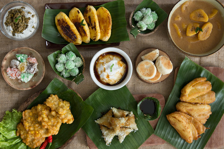 various of indonesian food