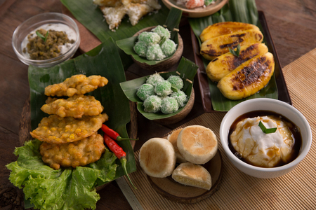 various of indonesian food Stock Photo - 105634743