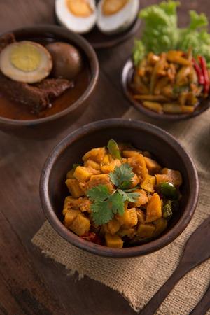 sambal goreng kentang. fried potato chili