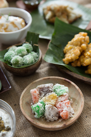 indonesian traditional food delicacy. javanese food Stock Photo