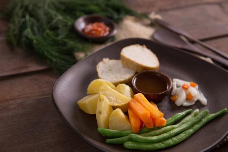 indonesian galantine food Stok Fotoğraf