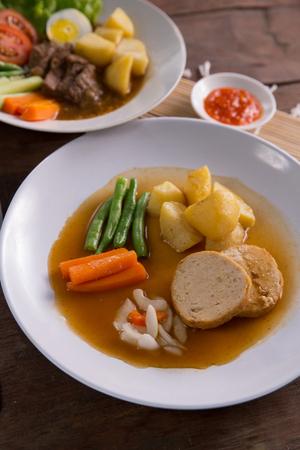 indonesian galantine food Stock Photo - 105478555