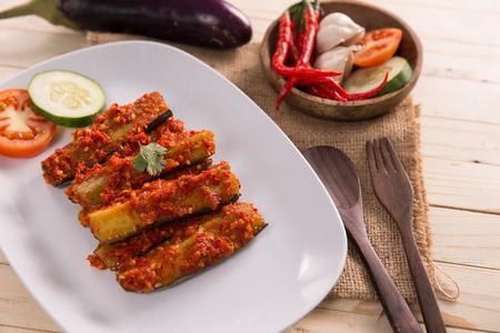 terong balado indonesian food