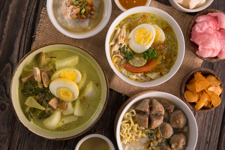 indonesian traditional food Stok Fotoğraf