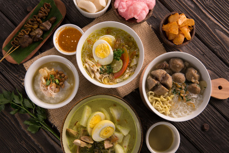 indonesian traditional food Banco de Imagens