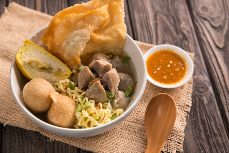 bakso. indonesian meatball Stock Photo