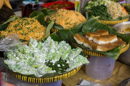 various indonesian traditional food Stock Photo - 105659352