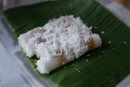 kue putu, traditional cake Reklamní fotografie