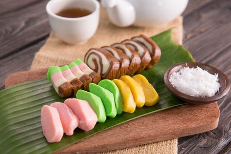 getuk. Javanese dish made from cassava