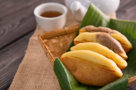 pukis snack. indonesian street food Reklamní fotografie - 105935627