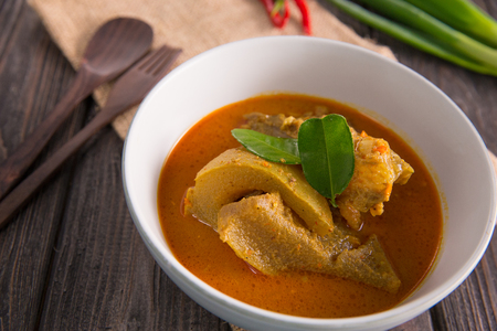 kikil or beef tendon curry Stock Photo