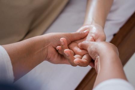 handmassage close-up