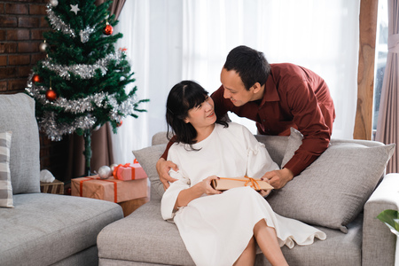 surprise gift to love in christmas day