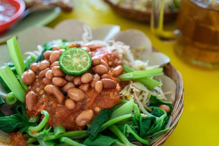 indonesian plecing kangkung dish Reklamní fotografie