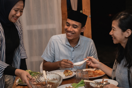 break fasting or buka puasa on ramadan kareem
