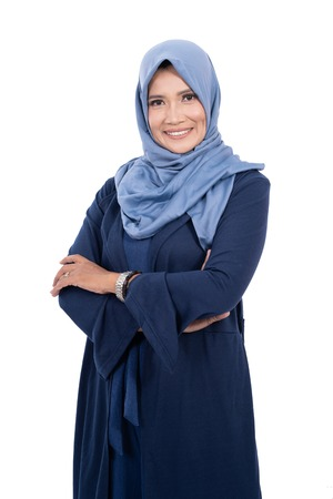 mature asian muslim woman with hijab