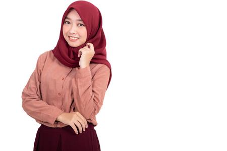 muslim asian woman isolated Zdjęcie Seryjne - 123746395