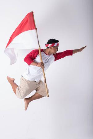 concept de nationalisme patriotique. jour de l'indépendance