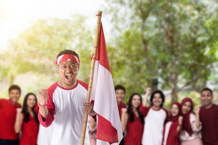 celebrazione del giorno dell'indipendenza indonesiana Archivio Fotografico