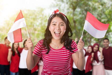 célébration de la fête de l'indépendance indonésienne