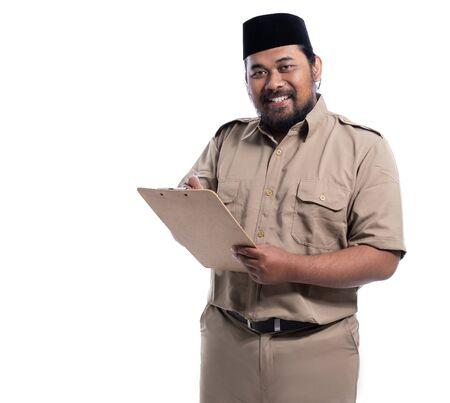 Happy Pegawai Negeri Sipil von Indonesien Standard-Bild