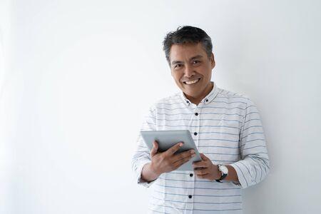 mature asian business man