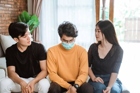 family support on people getting sick