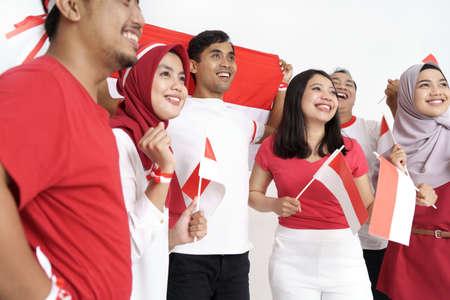 indonesian people during independence day Reklamní fotografie