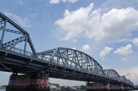 railroad tracks: railroad tracks bridge