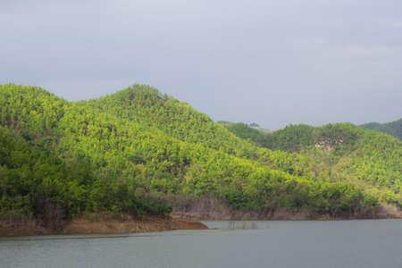 catchment: The abundant reservoir in northern Thailand.